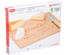 ALPINA prkénko na sýry s nožem