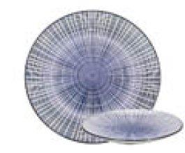 GUSTA Talíř 26,5 cm proužky
