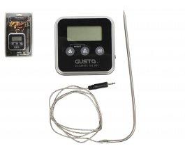 GUSTA Digitální teploměr a minutka s magnetem na přichycení