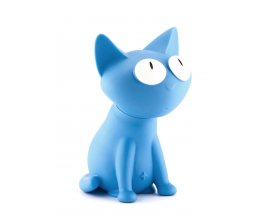 Kasička kočka Silly modrá