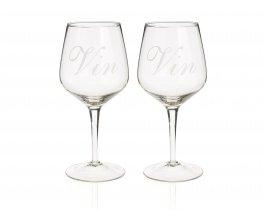 GUSTA Sklenky na víno VIN set 2 ks