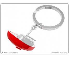 MTM klíčenka jachta červená