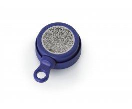 AdHoc Magnetický čajový infuzér MagTea, modrý s odkapávacím stojánkem