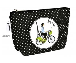 Fox Trot Kosmetická taštička Cyklisté Paříž