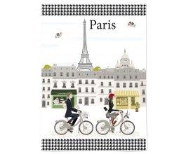 Fox Trot Utěrka kuchyňská Cyklisté Paříž