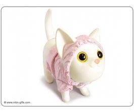 MTM Kasička Kočička v růžovém plášti