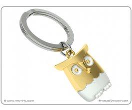 MTM Meta[l]morphose® klíčenka Sova zlatá