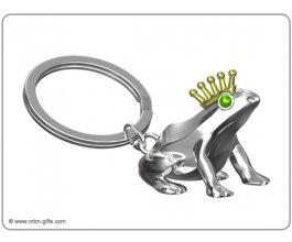 MTM Klíčenka Žabka stříbrná