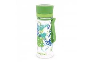 ALADDIN AVEO láhev na vodu 350ml zelená s potiskem