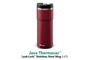 ALADDIN Java Thermavac Leak-Lock™ vakuový termohrnek 470 ml Burgundy Red