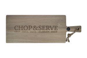 GUSTAPrkénko servírovací dřevěné 56 x 20 cm