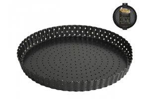 GUSTA Forma na koláč perforovaná s vyjímatelným dnem 24 cm