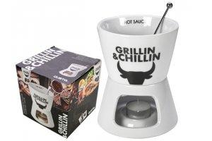 GUSTA Mini fondue/ohřívač na omáčku Grillin & Chillin