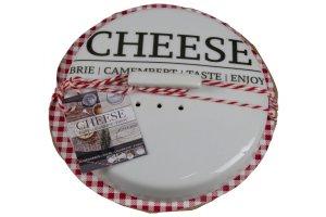 GUSTA Nádoba na sýr zapékací i pro uchování střední 14 x 4,5 cm