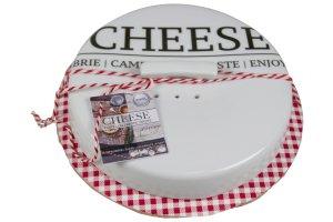 GUSTA Nádoba na sýr zapékací i pro uchování velká 16.5 x 6 cm
