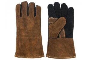 GUSTA BBQ kožené rukavice na grilování 16x33x1.5