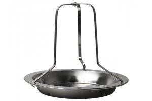 GUSTA Stojánek na pečené/grilované  kuře  nerezová ocel 19.5x19.5x16.5cm