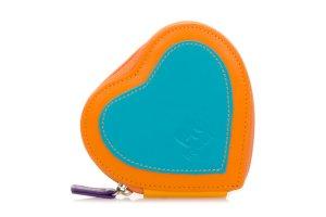 Mywalit Pouzdro na zip srdce oranžové 333-115