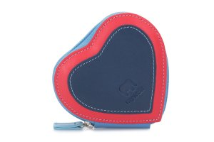 Mywalit Pouzdro na zip srdce modré 333-127