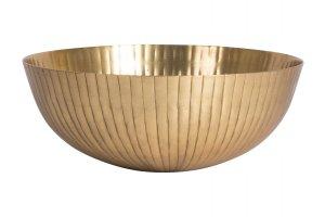 GUSTA Dekorační mísa průměr 25,5x10cm zlatá