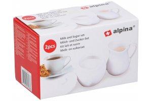 ALPINA set cukřenka a mlíčenka