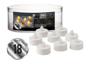 GUSTA LED čajové svíčky 18 ks, 3,8x 5 cm