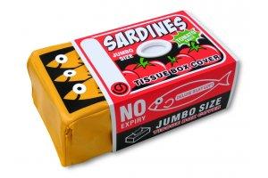 Kryt na krabičku papírových kapesníků Sardinky