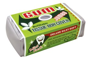 Kryt na krabičku papírových kapesníků Žvýkačky