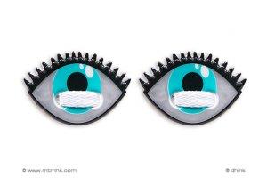 Dhink® Sneaker ozdoba na tkaničky Oči