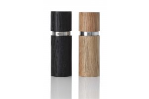 AdHoc set mlýnků TEXTURA CeraCut® černý & natural