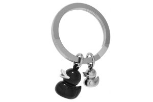 MTM Klíčenka kačenka & káčátko černá