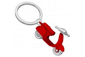 MTM Klíčenka scooter červený lesklý