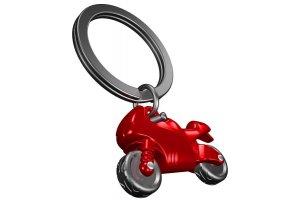 MTM Klíčenka motorka červená
