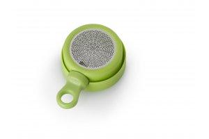 AdHoc Magnetický čajový infuzér MagTea, zelený s odkapávacím stojánkem