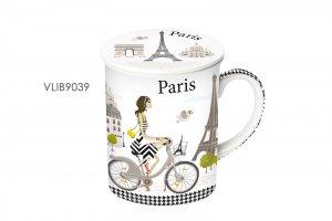 Fox Trot Hrnek byliňáček Cyklisté Paříž