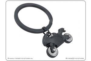 MTM Klíčenka - motorka černá