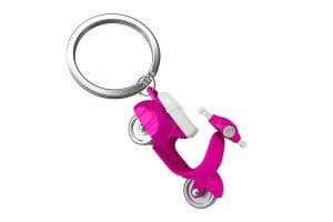 MTM Klíčenka scooter růžový